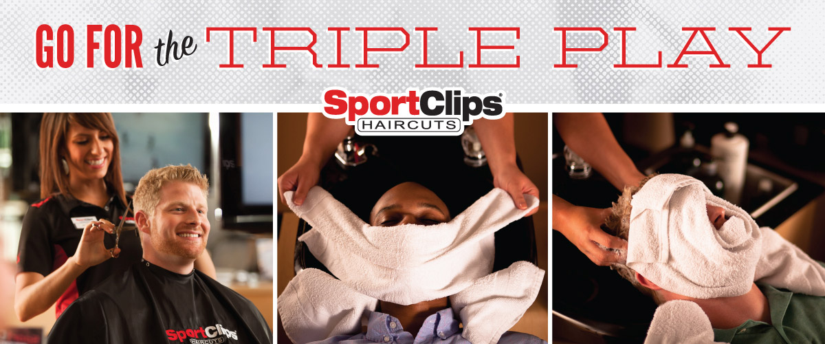 The Sport Clips Haircuts of Kyle  Triple Play